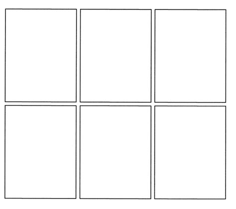 Comic Template For by Printable Comic Template Pdf Word Pages Calendar