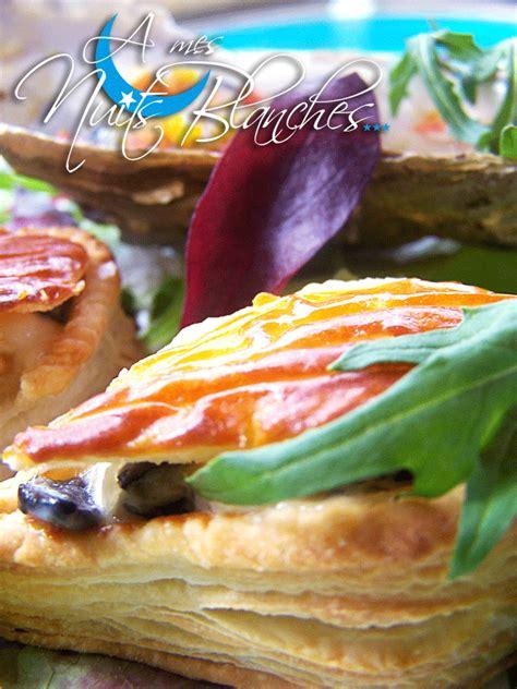 cuisiner les huitres feuilletés d 39 huîtres tièdes à la crème et aux truffes a