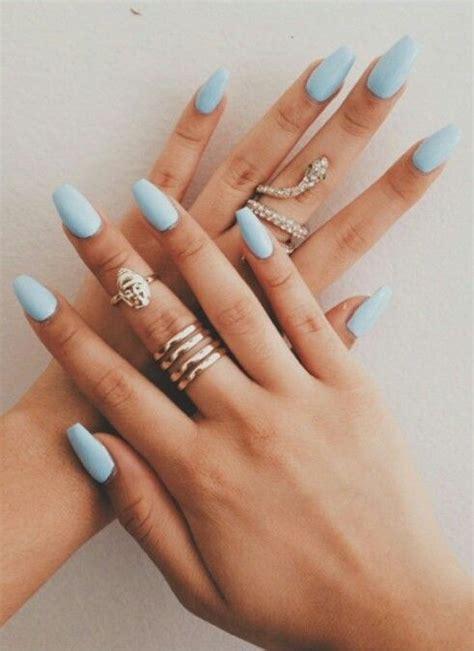 light blue nails oval nail designs 2016 nail styling