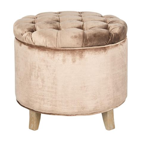 safavieh amelia tufted storage ottoman decor market safavieh amelia tufted storage ottoman