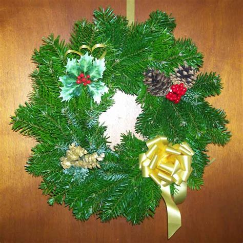 decorated christmas wreath decorated christmas wreath
