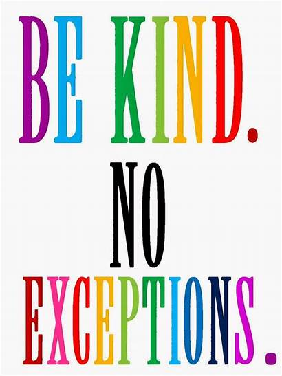 Kind Neighbor Exceptions Kindness Poster Posters Acts