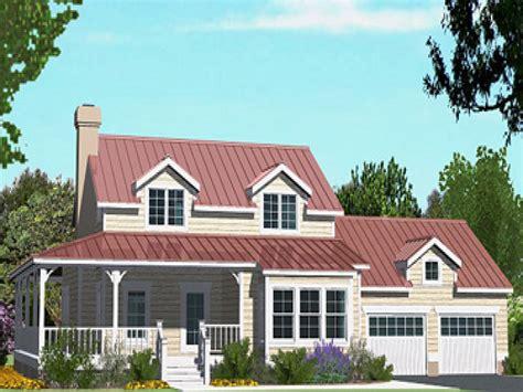 cottage house plans  wrap  porch cottage house plans  attached garage cottage