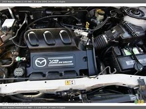 3 0 Liter Dohc 24 Valve V6 Engine For The 2003 Mazda