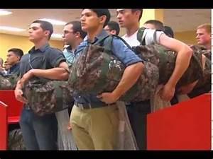Marine Boot Camp RAW Footage   FunnyDog.TV