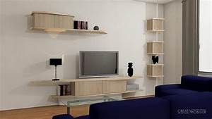 Meuble Salon Sur Mesure VM89 Jornalagora