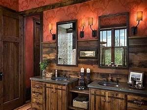 Rustic, Bathroom, Vanities, For, Unique, Look
