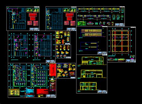 hospital pharmacy in autocad cad download 11 mb