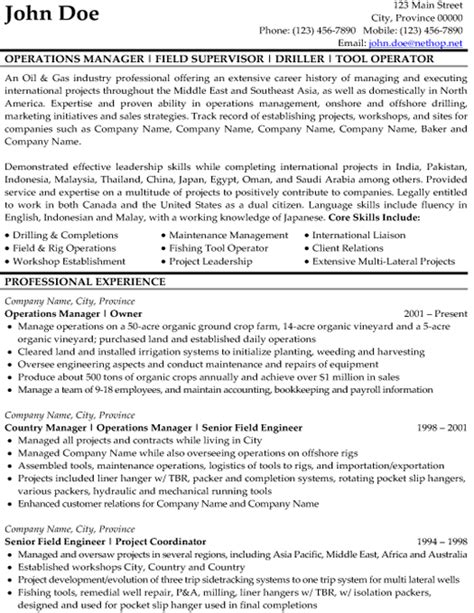 company profile sles template click here to download our drilling resume sle http
