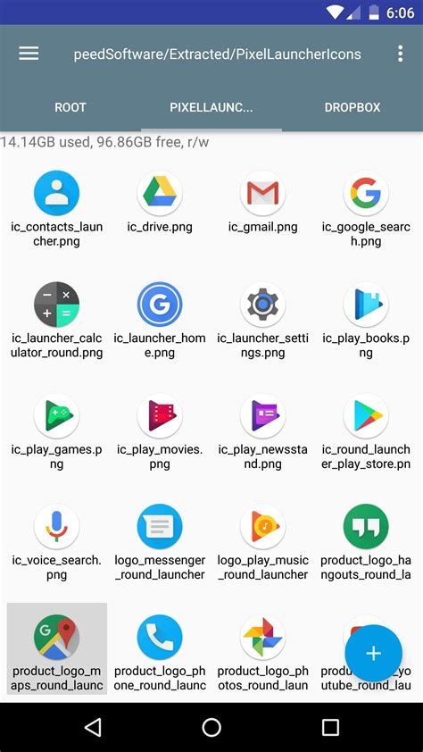 how to get the pixel s new rounded icons on your android