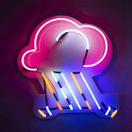 Prop Hire Kemp London Bespoke neon signs prop hire