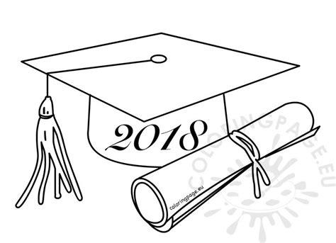 class   graduation cartoon drawing coloring page