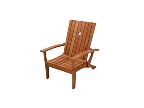 reclining adirondack chair teak planter