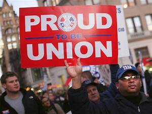 The states with the largest unionized work forces - NBC News