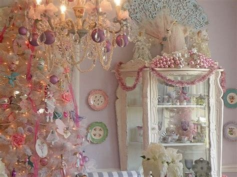 pink shabby chic christmas pictures   images