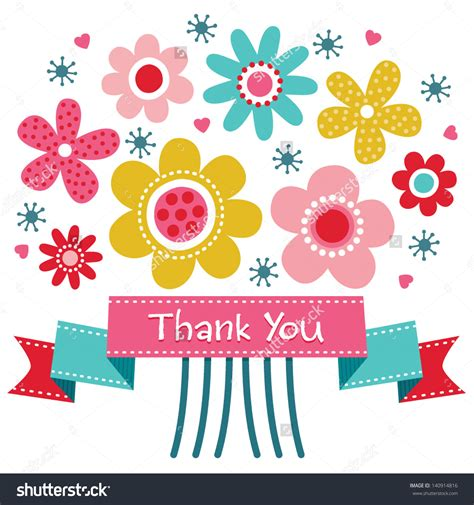Clip Thank You Clip Thank You Flowers Bouquet Clipart Thank You 8
