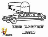 Limo Coloring Pages Limousine Transportation Printable Police Cars Service Colouring Celebrity Fire Yescoloring Vehicles Template Boys Emergency Trucks Results Powered sketch template