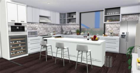modern kitchen  aymiassims sims  updates