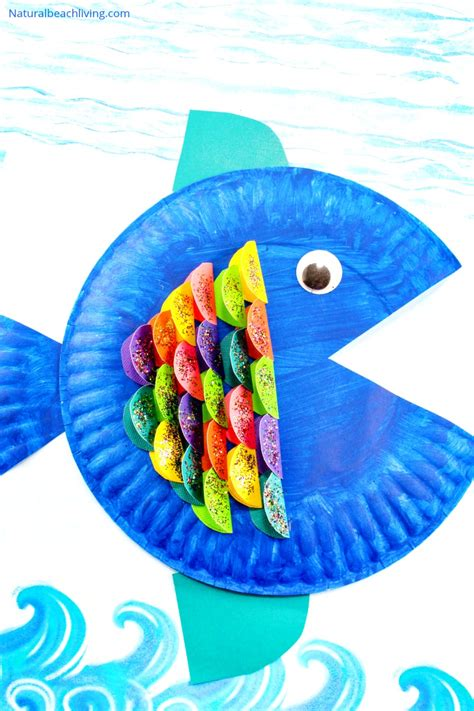 paper plate fish craft for 438   Paper Plate Fish Craft pin2