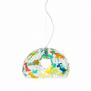 Luminaire Kartell : luminaire pour chambre d 39 enfant fl y de kartell ~ Voncanada.com Idées de Décoration
