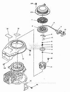 Robin  Subaru Ec13v Parts Diagram For Cooling  Starting