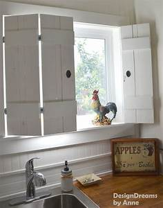$10 DIY Indoor Shutters Butt hinges, Kitchen sinks and