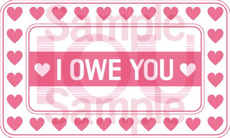 i owe you coupon template 11 images bj designs