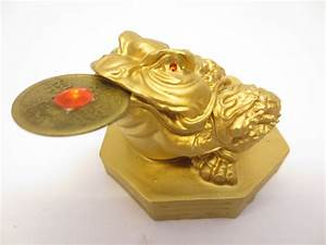 Feng Shui Frosch : feng shui frosch gold mit gl cksm nze dragon euro trade bv ~ Sanjose-hotels-ca.com Haus und Dekorationen