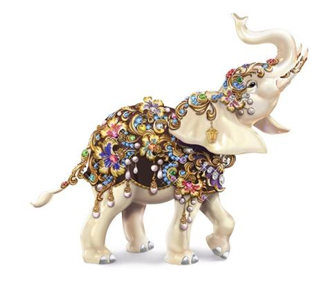 Porcelain Ceramic Elephant Figurines Statues by Elephant Home Decor 50 Elephant Figurines Home Accessories
