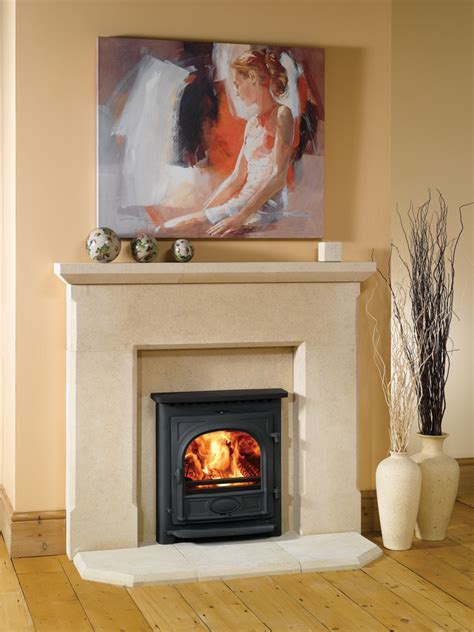 stockton  wood burning multi fuel inset convector stoves