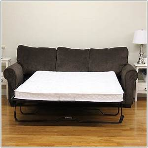 Mattress sofa sleeper light brown microfiber loveseat for Best mattress for light sleepers