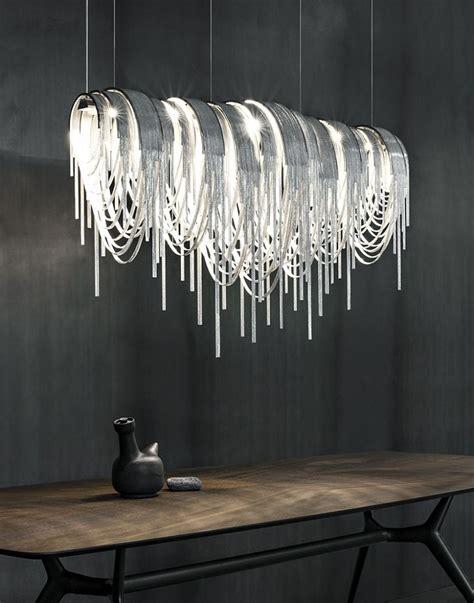 Elegant And Modern Suspension Light  Home Inspiration