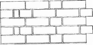 Brick clipart black and white - Pencil and in color brick ...