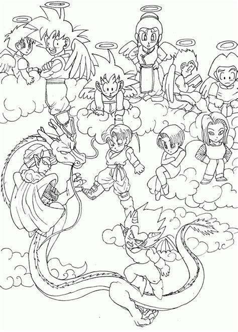 dragon ball   coloring home