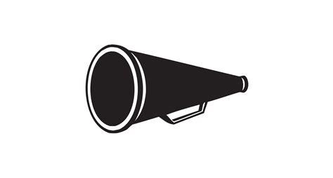 megaphone clipart cheer megaphone and poms png transparent cheer megaphone
