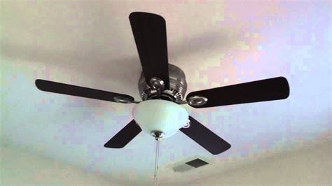 Harbor 52 Inch Crosswinds Ceiling Fan by 44 Quot Harbor Mayfield Ceiling Fan With Brushed Nickel