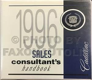 1996 Cadillac Fleetwood Repair Shop Manual Original 2