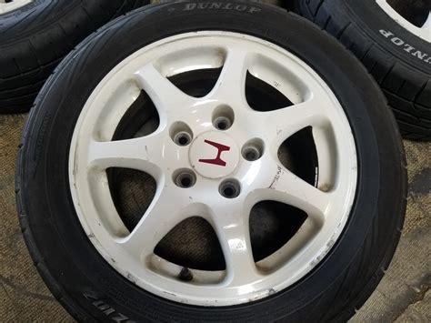 Ek9 5x114.3 15x6 +50 Wheels 1996 2000 Jdm Honda Civic Ek9