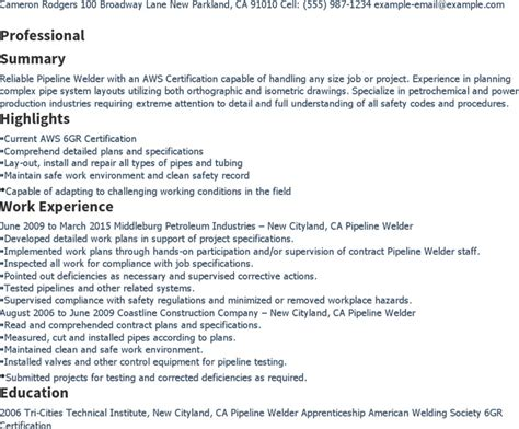 welder resume templates free premium