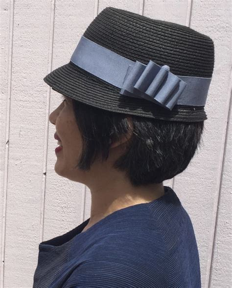 removable ribbon hat band tutorial part
