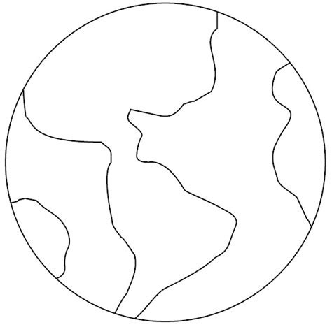earth template recycled puzzle earth