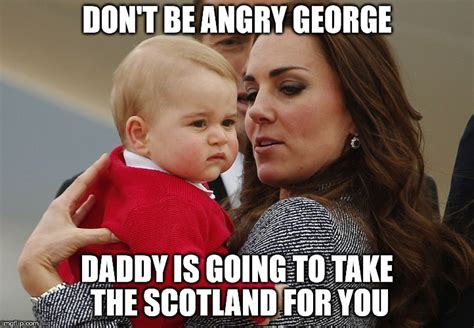 George Meme - baby george imgflip