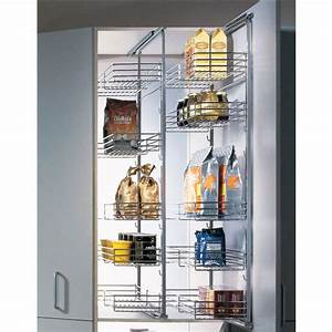 Pantry Fittings - Single Extension Pantry Pull-Out by