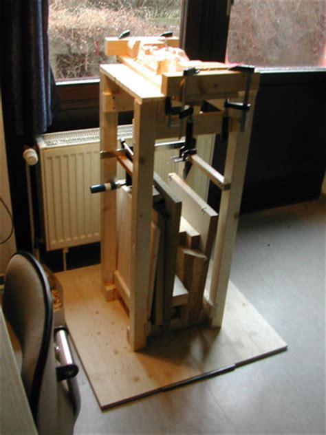 Portable Wood Carver's Bench Plans Furnitureplans