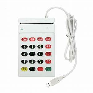 Usb Magnetic Card Reader With Usb Interface Number