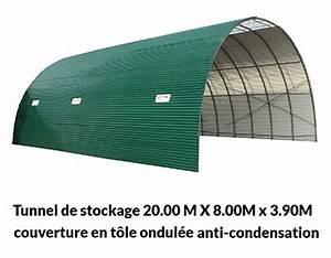 Tole Ondulée Galvanisée Occasion : abri tunnel tole ondulee ~ Dailycaller-alerts.com Idées de Décoration