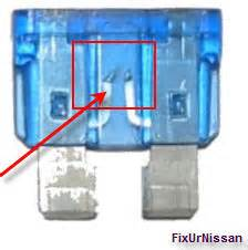 Broken Fuse In Fuse Box by I A 2011 Altima After Plugging An A C Adapter In The