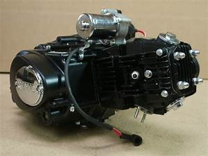 125cc Motor Engine Semi Auto  3f 1r  Chinese Atv Utv Quad
