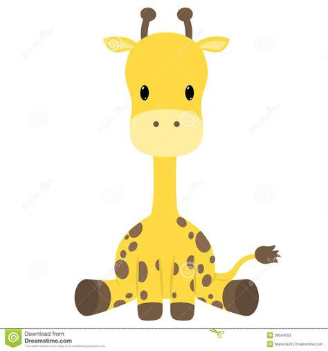 baby boy giraffe clipart animal clipart baby giraffe pencil and in color animal