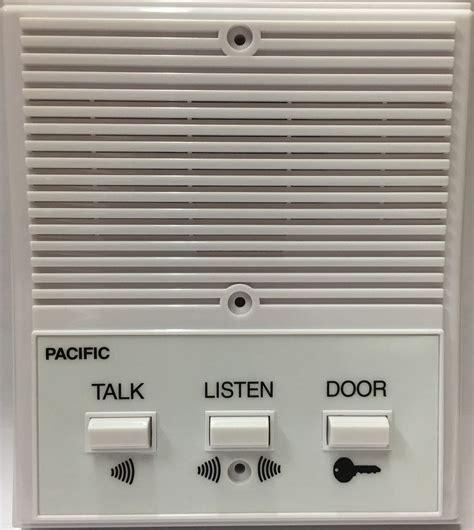 pacific apartment intercom station 3406 universal